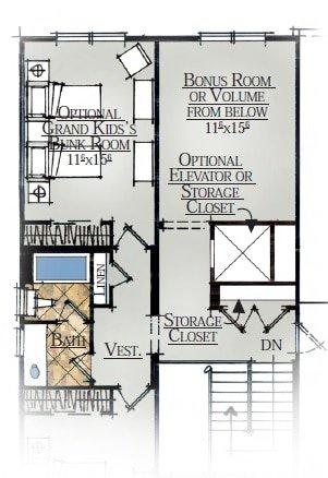 44-2350 2nd Floor With 3 Bedrooms