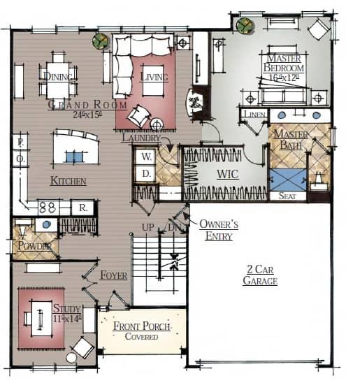 B-2350 First Floor
