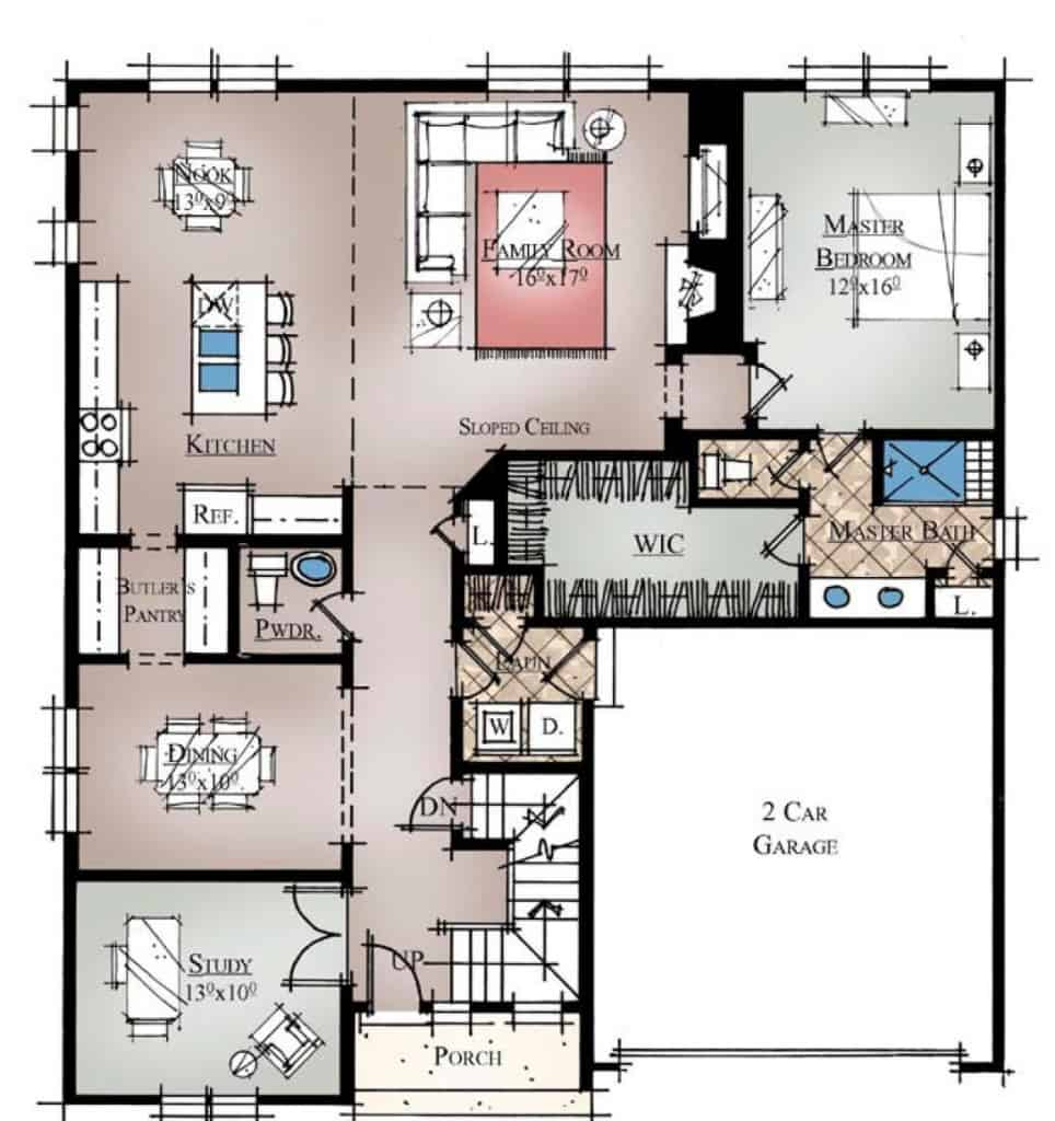 Lily First Floor Plan