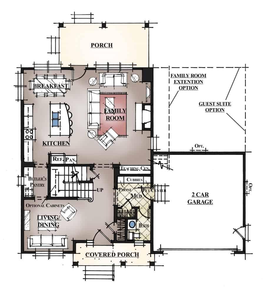 VTM 50-2410 Sasser Plan 1st Floor