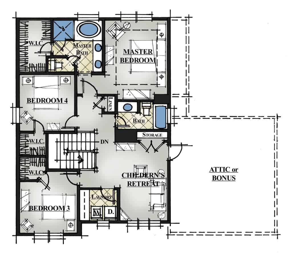 VTM 50-2410 Sasser Plan 2nd Floor