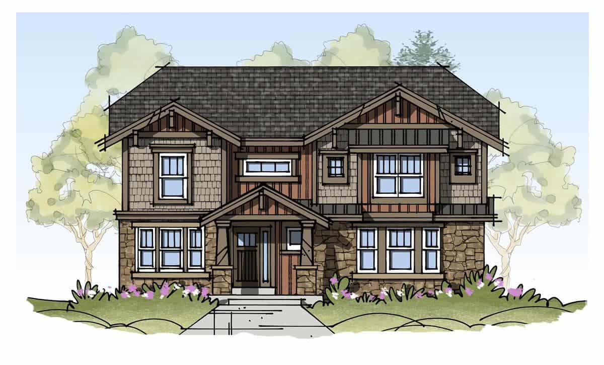 White-River-3202-Craftsman-Elevation