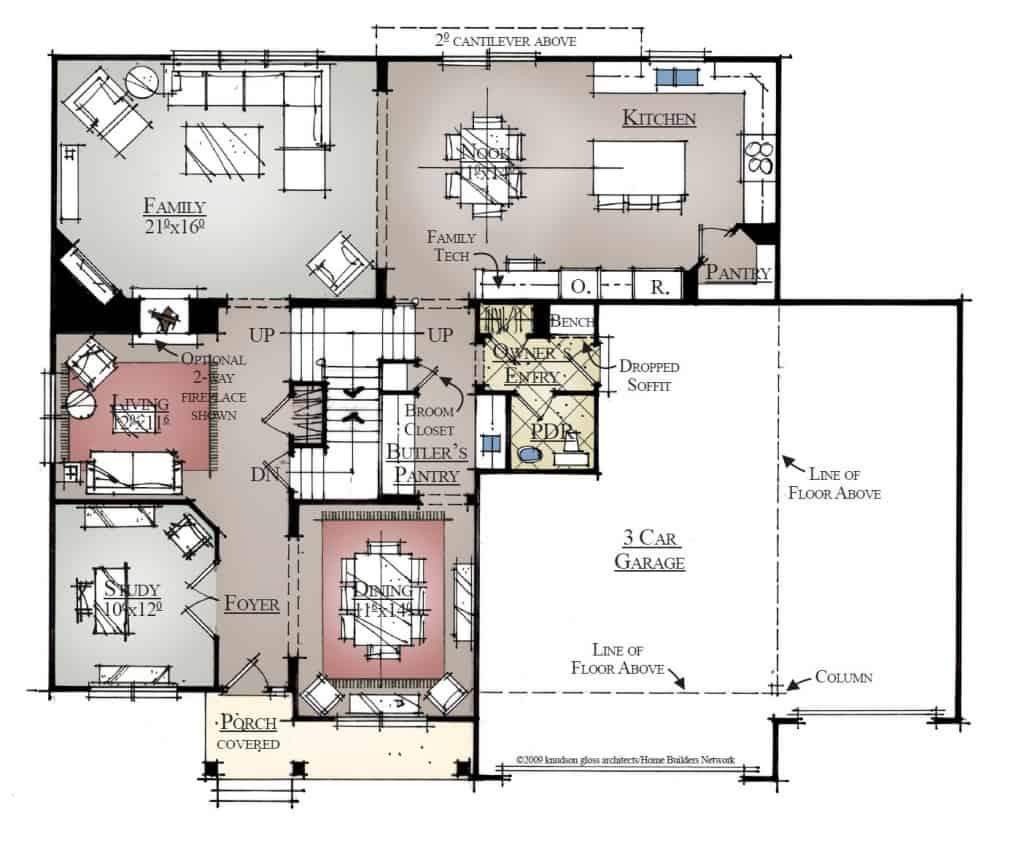 Yakima River First Floor Plan