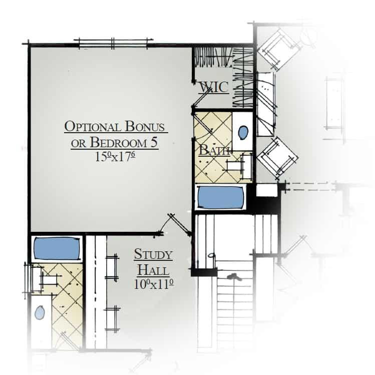 Yakima River Optional Bonus or Bedroom 5